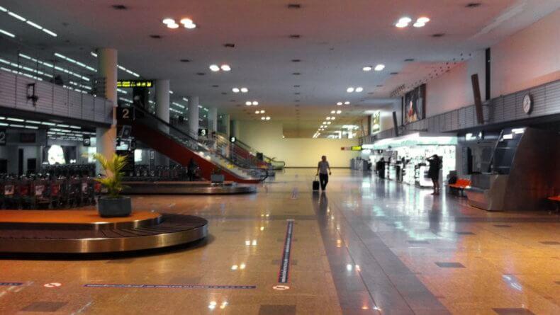 Аэропорт Дон Муанг в Бангкоке - 1 этаж