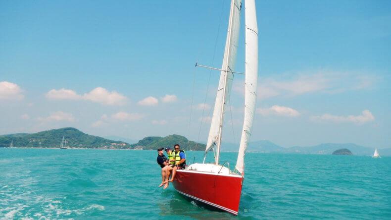 Аренда парусной яхты в Тайланде