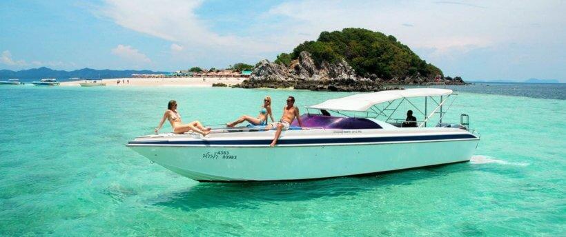 Аренда катера в Тайланде
