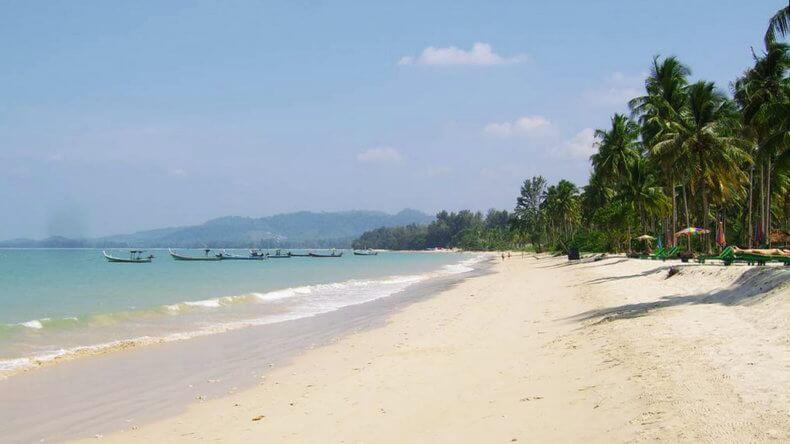 Пляж Пак Виб (Pak Weeb Beach) в Као Лак