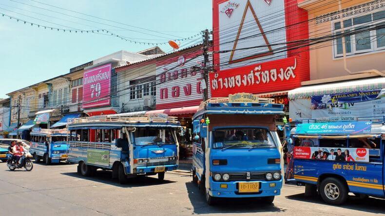 Автобусный вокзал в Пхукет Таун