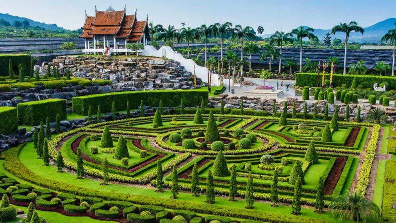 Развлечения в Тайланде - Парк Нонг Нуч в Паттайе