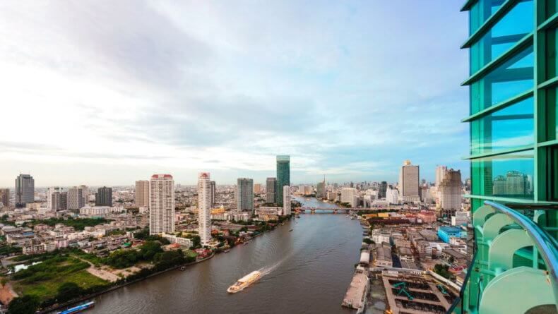 Район Риверсайд (Riverside) в Бангкоке