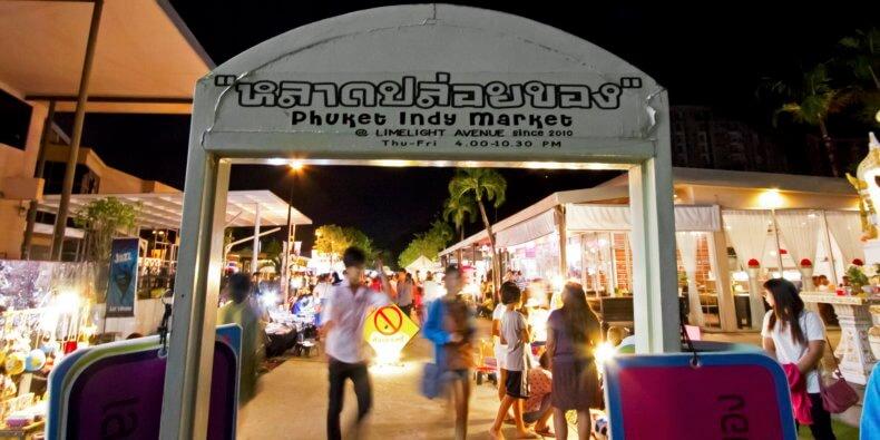 Рынок Phuket Indy Market на Пхукете