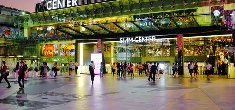Торговые ценры Бангкока