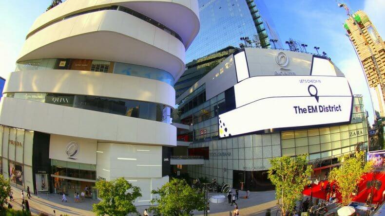 Торговый центр Emquartier в Бангкоке