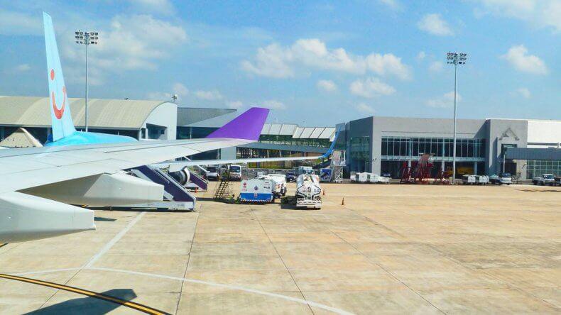 Аэропорт Краби в Тайланде