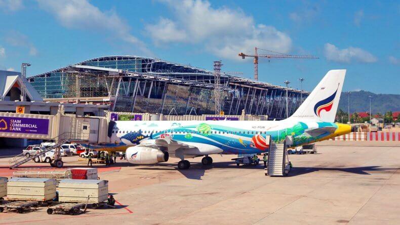 Аэропорт Пхукет в Тайланде