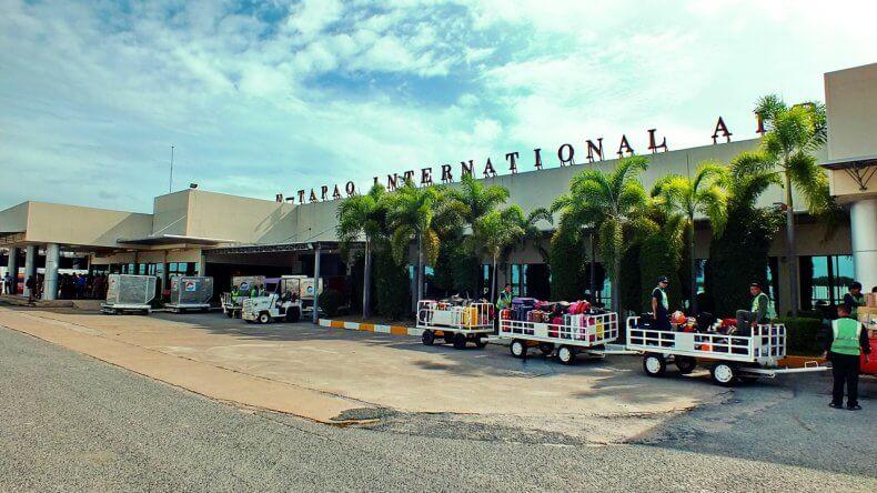 Аэропорт Утапао в Тайланде