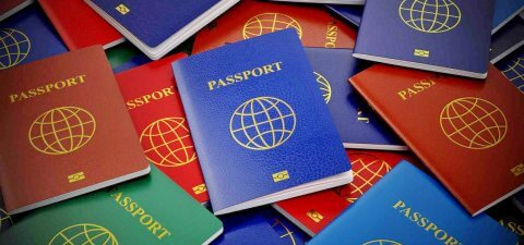 Цвета паспортов стран мира