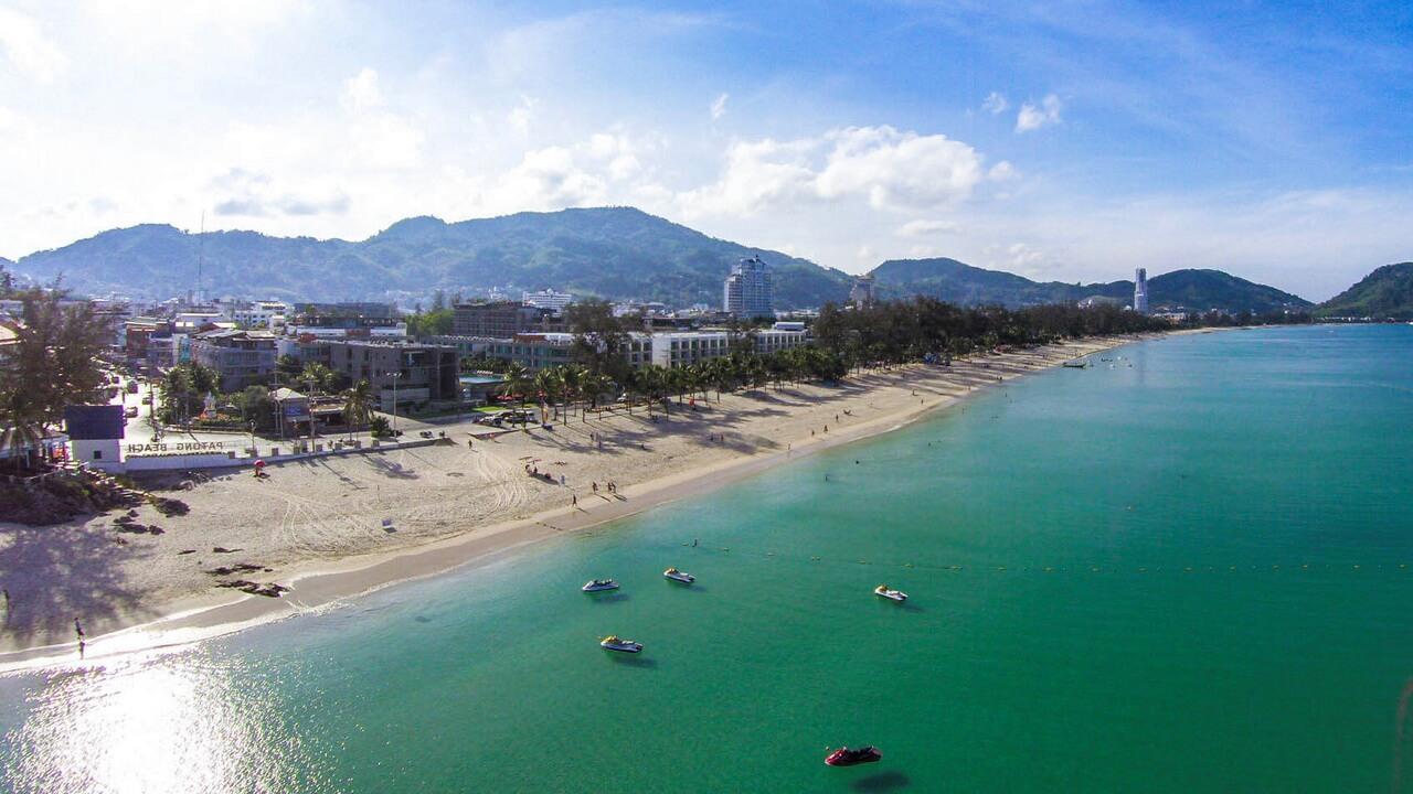 пхукет пляж патонг бич фото