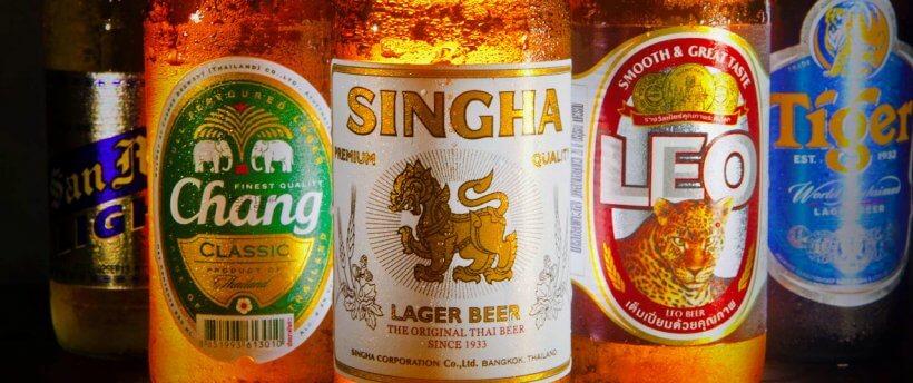 Пиво в Тайланде