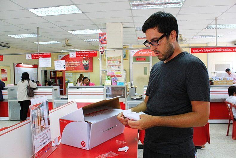 Как отправить посылку из Тайланда в Россию