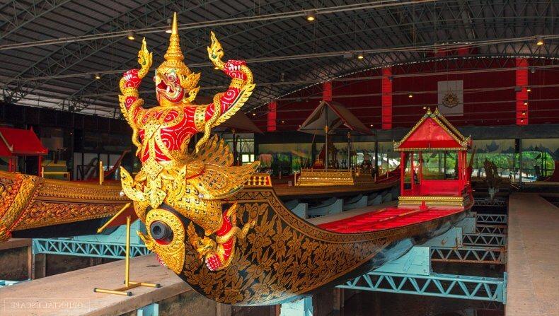 Музей королевских лодок в Бангкоке