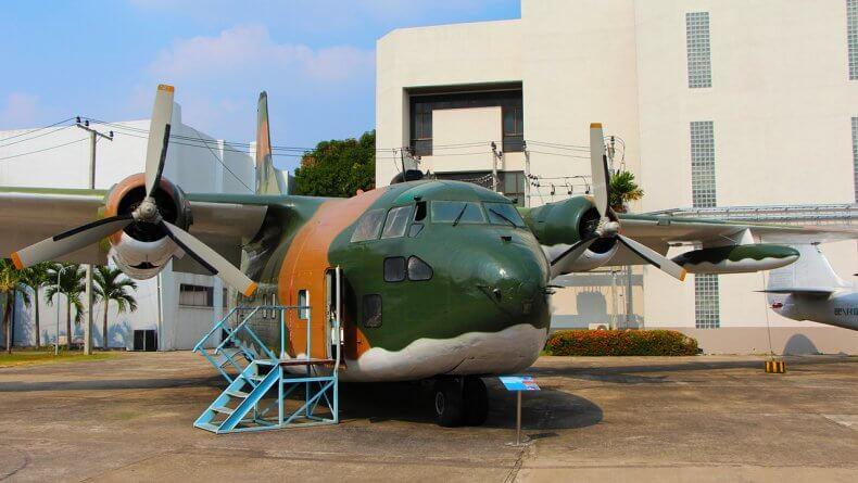 Королевский тайский Музей ВВС в Бангкоке