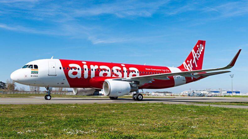 Авиакомпания-лоукостер Air Asia в Тайланде