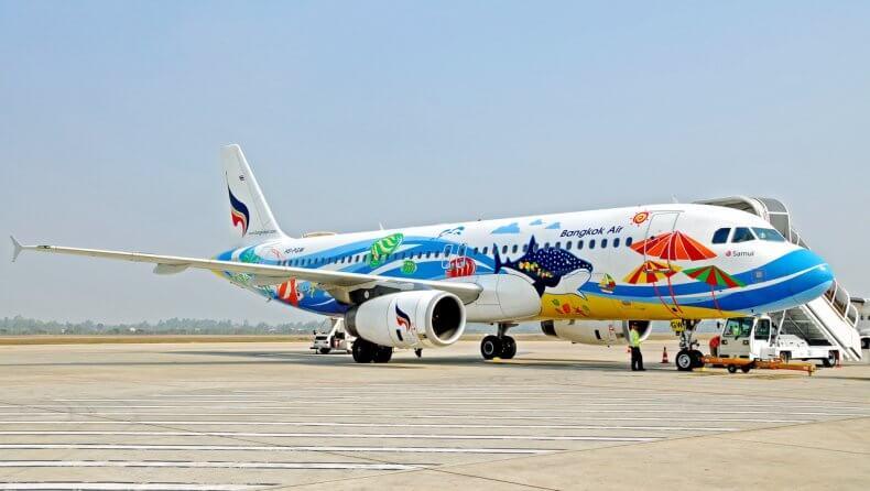 Авиакомпания Bangkok Airways в Тайланде