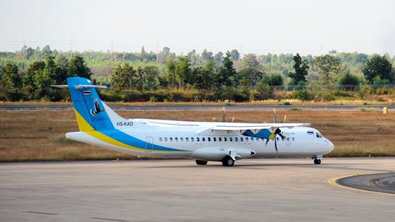 Авиакомпания-лоукостер Kan Air в Тайланде