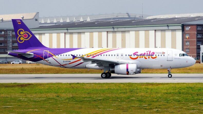 Авиакомпания-лоукостер THAI Smile в Тайланде