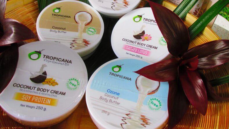 Тайская косметика - масло для тела с кокосовым молоком