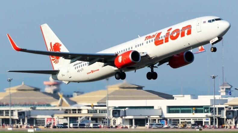 Авиакомпания-лоукостер Thai Lion Air в Тайланде