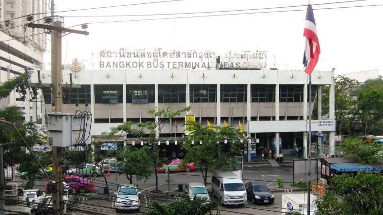 Автовокзал Ekkamai Bus Terminal в Бангкоке