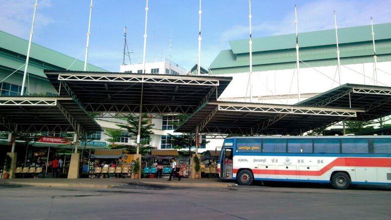 Южный автовокзал Sai Tai Mai в Бангкоке
