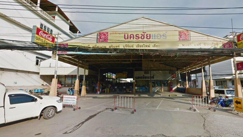 Автовокзал Nakhon Chai в Паттайе
