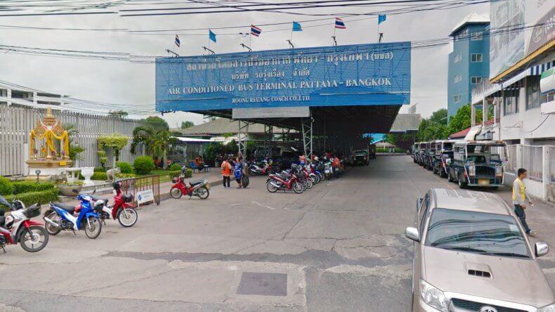 Автовокзал Nua Bus Stantion в Паттайе