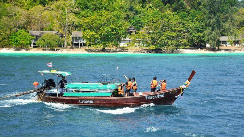 Морская экскурсия «Пять островов» на Самуи
