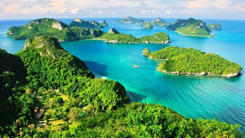 Экскурсия в морской Национальный парк Анг Тонг на Самуи