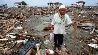 Последствия цунами 2004 года