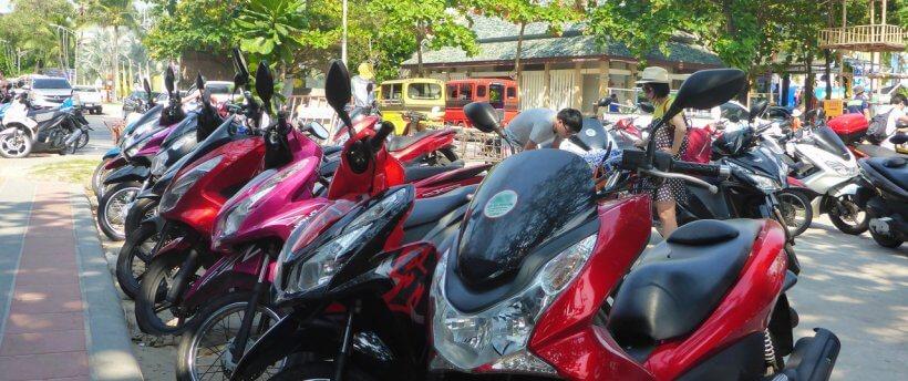 Аренда скутера на Пхукете