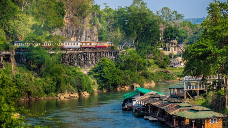 Экскурсия на реку Квай из Паттайи