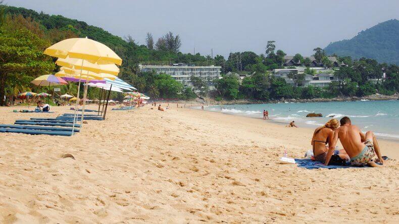 Пляж Сурин Бич на Пхукете