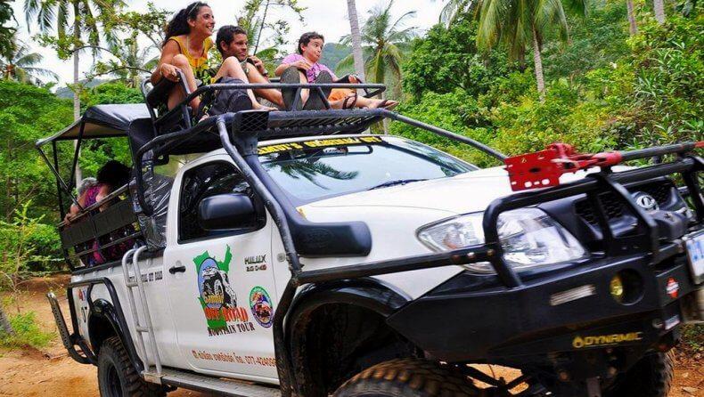 Экскурсия на джипах по Самуи