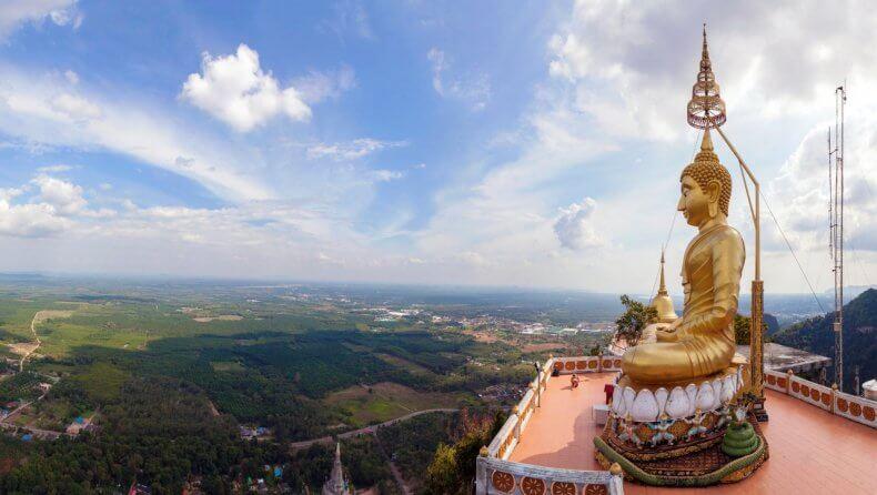 Храм Тигра Wat Tham Sua в Краби