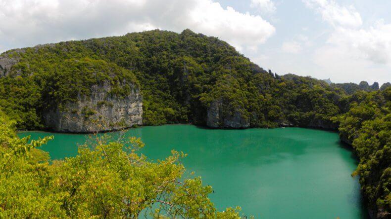 Морской парк Ангтонг - озеро на острове Mae Ko