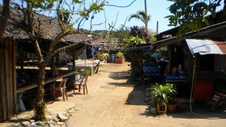 Морской парк Ангтонг - цыганская деревня на острове Paluay