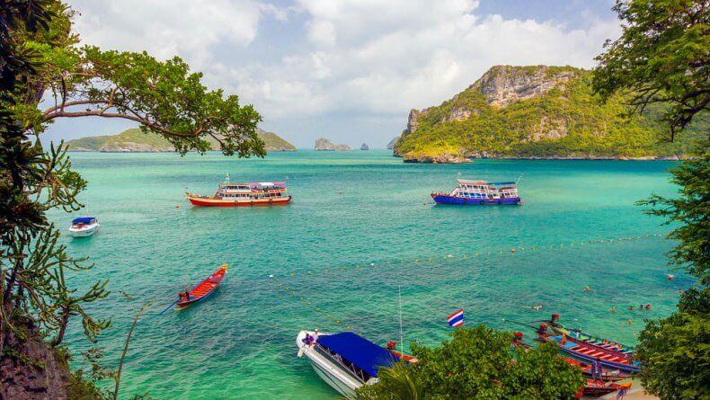 Национальный морской парк Ангтонг