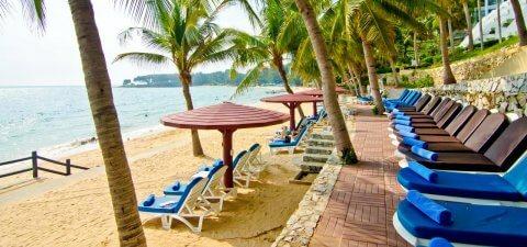 Отели Паттайи с собственным пляжем