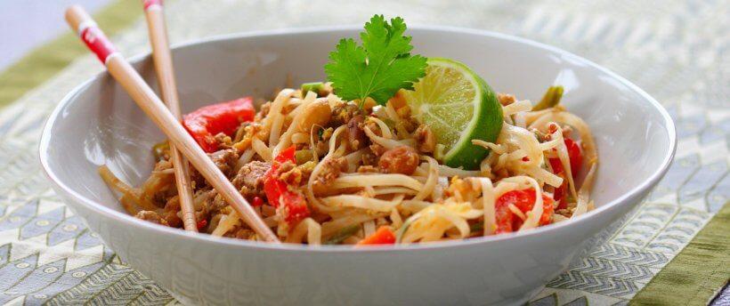 Рисовая лапша Пад Тай