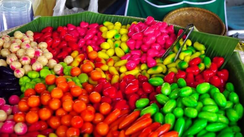 Конфеты Лук Чуп в Тайланде