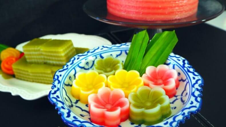 Десерт Кханон Чан в Тайланде